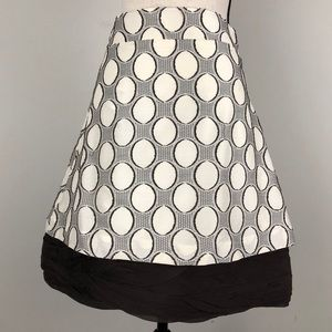 Alice + Olivia Aline Dot Pattern Skirt